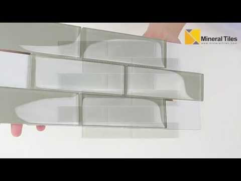 Glass Subway Tile French Gray 2x6 - 120ANAELEMSMO26