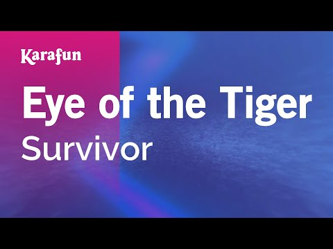 Karaoke Eye Of The Tiger - Survivor *