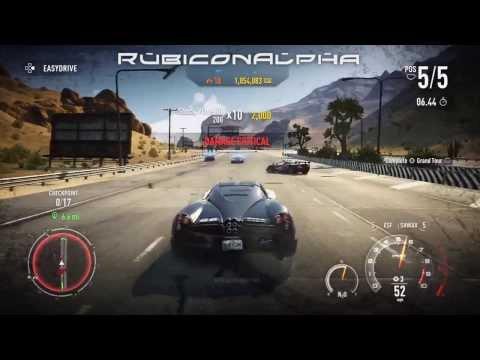 Need For Speed Rivals (PS3) 2 Million SpeedPoints Run