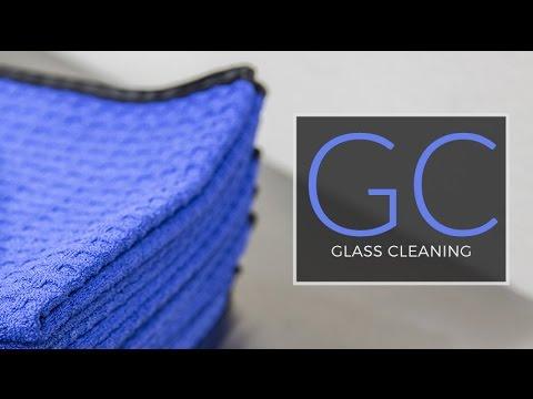Microfiber E5: Waffle Weave Glass Cleaning Towel