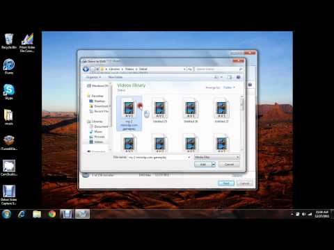 my 2nd video how to get windows dvd maker.avi