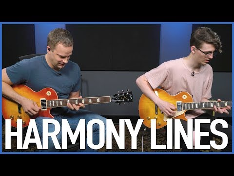 GUITARMONIES! Creating Harmony Lines On Guitar - Lead Guitar Lesson
