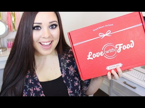 LOVE WITH FOOD! AUGUST 2015 (Gluten-free Box)
