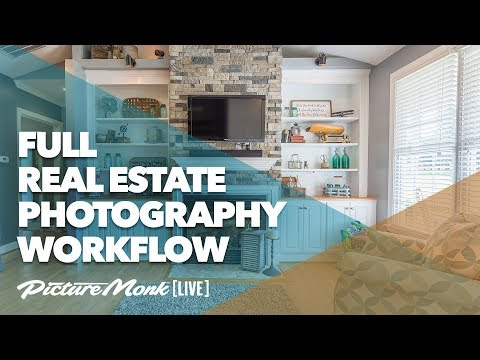 Full Real Estate Photography Workflow