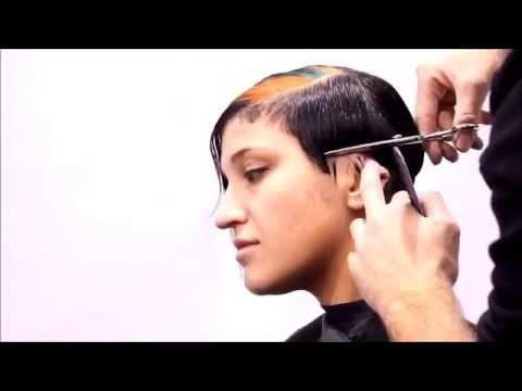haircut-geometric asymmetrical