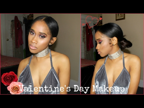 Perfect Romantic Valentine's Day Makeup Tutorial   Nae and Nea