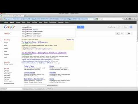 How to permanently delete your Google Web History - 2012