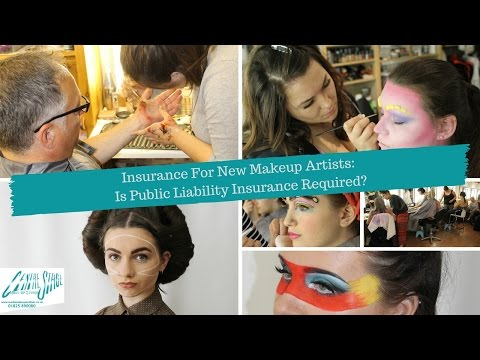 Insurance for New Makeup Artists -  Is Public Liability Insurance Required