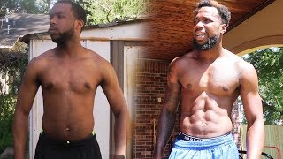 My Full One Year BodyBuilding Transformation! HOW I DID IT STEP BY STEP!