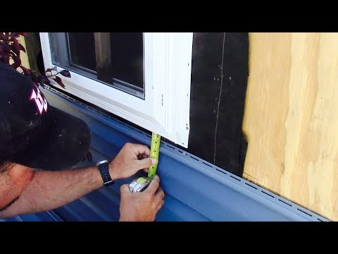 How To Install Vinyl Siding On A Shed