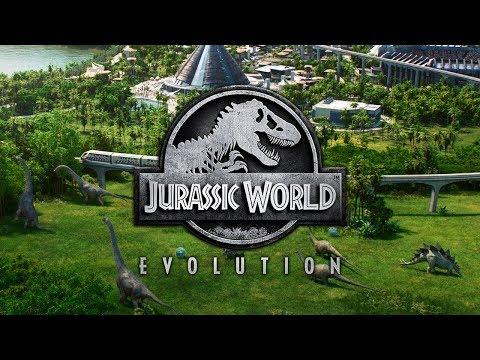 Jurassic World Evolution - Livestream on Saturday