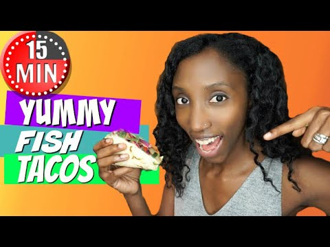 15 Minute Meal Challenge | How to make Fish Tacos