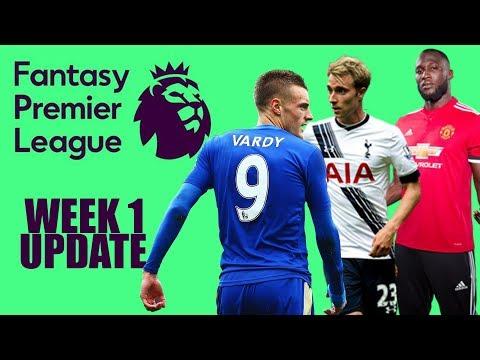 FPL PRIVATE LEAGUE UPDATE | Fantasy Premier League Gameweek 1