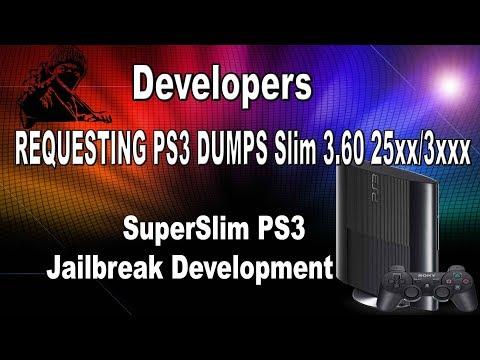 SuperSlim PS3 And Other Non Jailbreakable Dumps Needed For Jailbreak Development