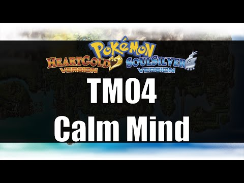 Pokemon Heart Gold & Soul Silver - Where to get TM04 Calm Mind