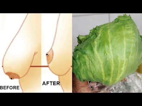 PERMANENTLY TIGHTEN SAGGING BREAST IN 3 DAYS USING SALAD (100% WORKS)
