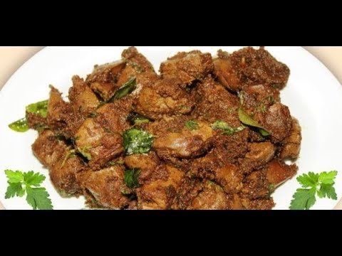 Mutton Liver fry in Tamil with English subtitle | Goat Liver fry | Non-veg recipes