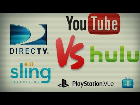 Which Is The Best For Live Tv?!(Youtube TV, Hulu Live TV, Direct Tv Now, Sling Tv, PlayStation Vue)
