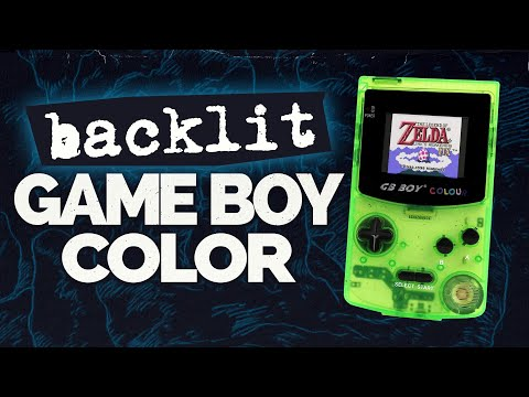 GB Boy Colour Review - Fantastic Backlit Game Boy Color Clone by KongFeng