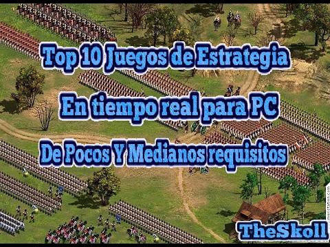 Top 10 Juegos de Estrategia en Tiempo real de Pocos Y Medianos Requisitos