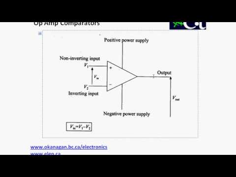 Operational Amplifiers - Comparators