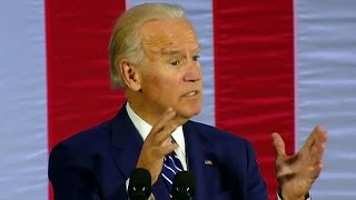Vice President Joe Biden campaigns for Hillary Clinton in Pennsylvania