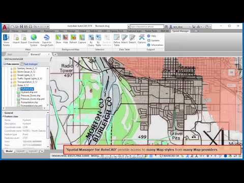 Google Maps in your AutoCAD drawings? Of course -  Spatial Manager Blog