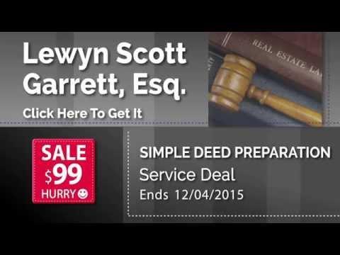Real Estate Deed Preparation Deal Save 65%