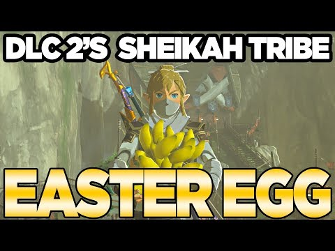 DLC Pack 2's Easter Egg with Bananas?!?!?! Zelda Breath of the Wild | Austin John Plays