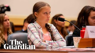 Greta Thunberg testifies to Congress over climate crisis – watch live