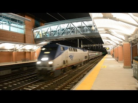 RARE Springfield Shuttle & ACS Lead Amtrak 65 @ West Haven (NEC)