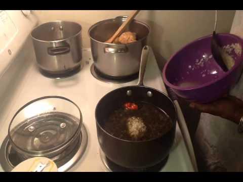 [15] - Diri Djon Djon (Rice with Black Mushroom)