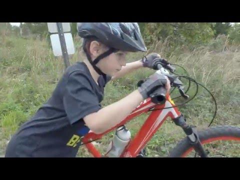 Kid MTB at Quiet Waters Park Mountain Bike Trail