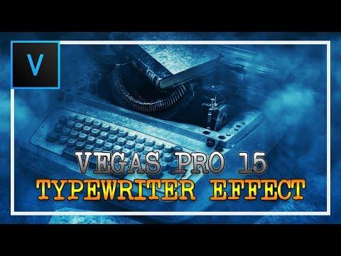 How To Make a Typewriter Effect in Vegas Pro 15