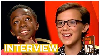 Netflix Stranger Things | Interview with Millie Bobby Brown & Caleb McLaughlin