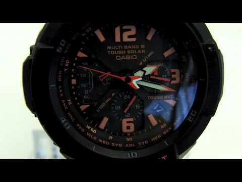 DST Setting for Casio Analog Waveceptor Watch
