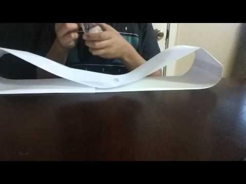 How to make paper batman belt part1