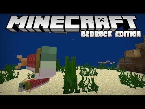 Survival   Aquatic Update Livestream   Minecraft Bedrock Edition