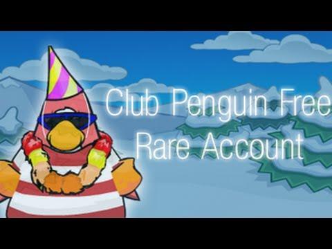 FREE Rare Red Lei Club Penguin Account #1 August 2013!