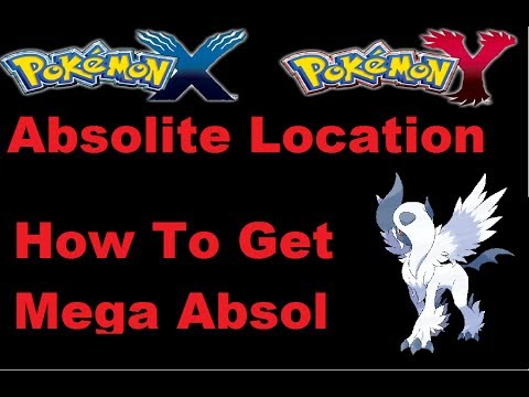 Pokemon X And Y How To Get Mega Absol Absolite Mega Stone Location