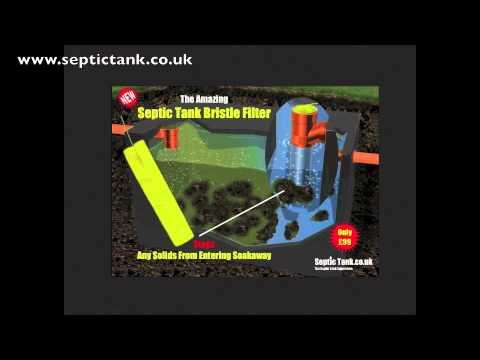Septic Tank Baffle Filter
