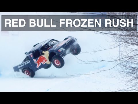 How 900 HP 4X4 Trucks Dominate The Snow - Red Bull Frozen Rush