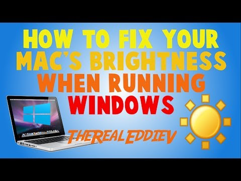 How to fix your Mac's Brightness when running Windows