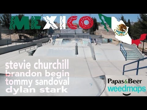 MY FIRST TIME IN MEXICO! With Churchill, Begin & Sandoval