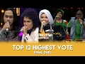 Top 12 Highest Vote Final Duel | Rising Star Indonesia 2016