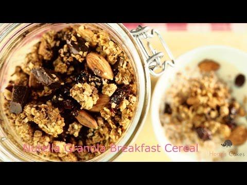 Nutella Granola Breakfast Cereal