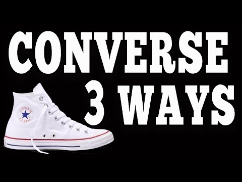 How To Wear Converse Chuck Taylor's (3 Different Ways)