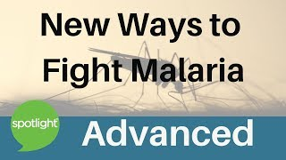 """New Ways to Fight Malaria"" - ADVANCED - practice English with Spotlight"