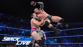 Randy Orton vs. Rusev: SmackDown LIVE, Nov. 7, 2017