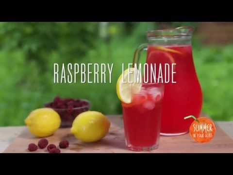 How to make raspberry lemonade at home
